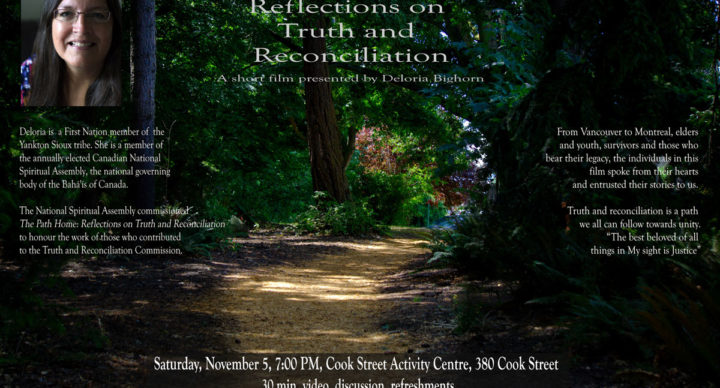 The Path Home: Reflections on Truth and Reconciliation