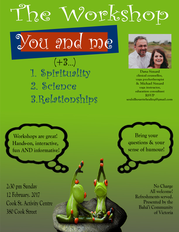 You & Me +3: Science, Spirituality & Relationships