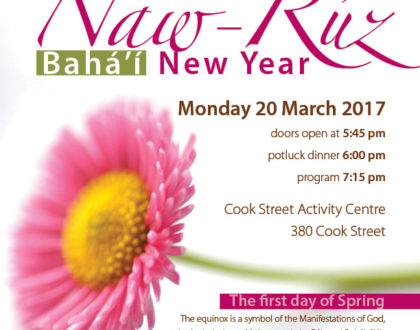 Naw Ruz celebrations - 174 BE